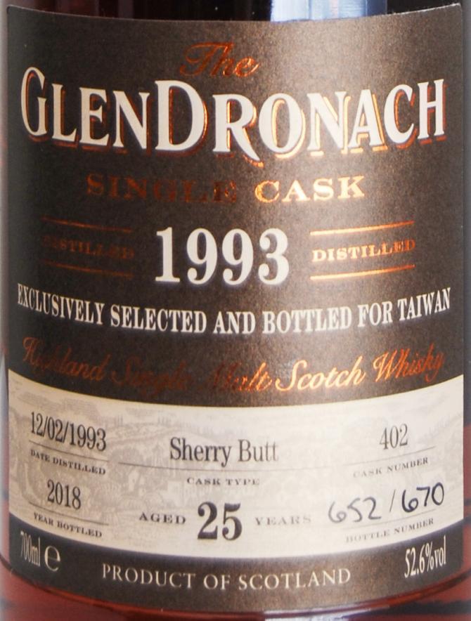 Glendronach 1993