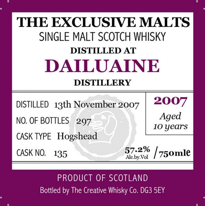 Dailuaine 2007 CWC
