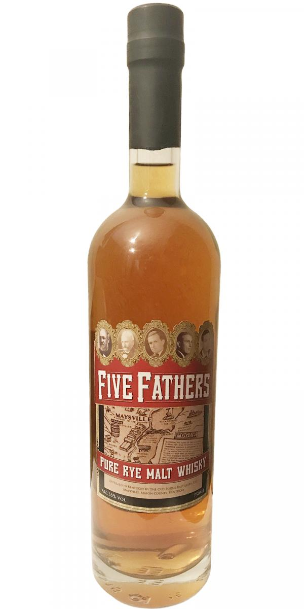 Five Fathers Pure Rye Malt Whisky