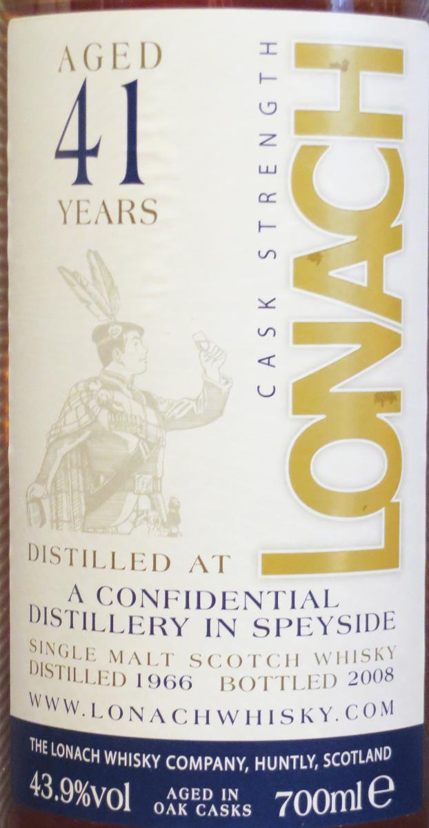 A Confidential Distillery in Speyside 1966 DT