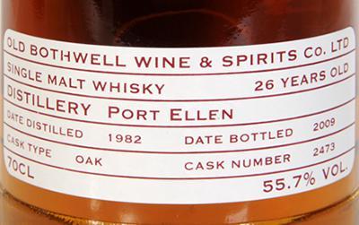 Port Ellen 1982 OB