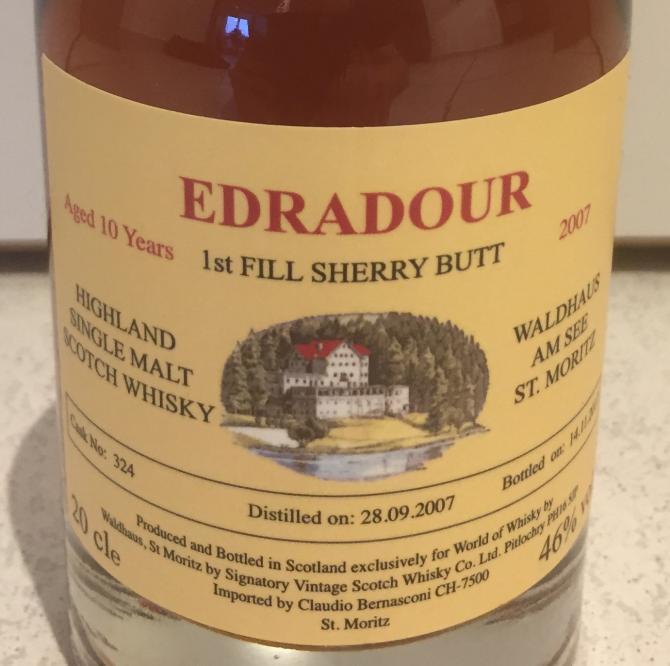 Edradour 2007