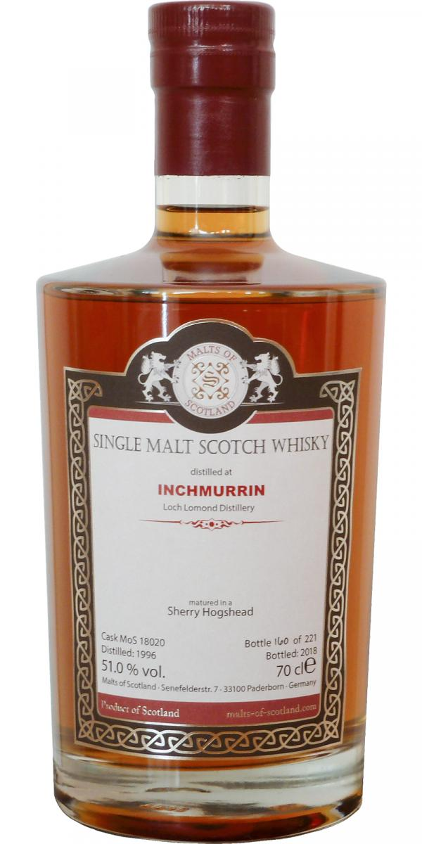 Inchmurrin 1996 MoS