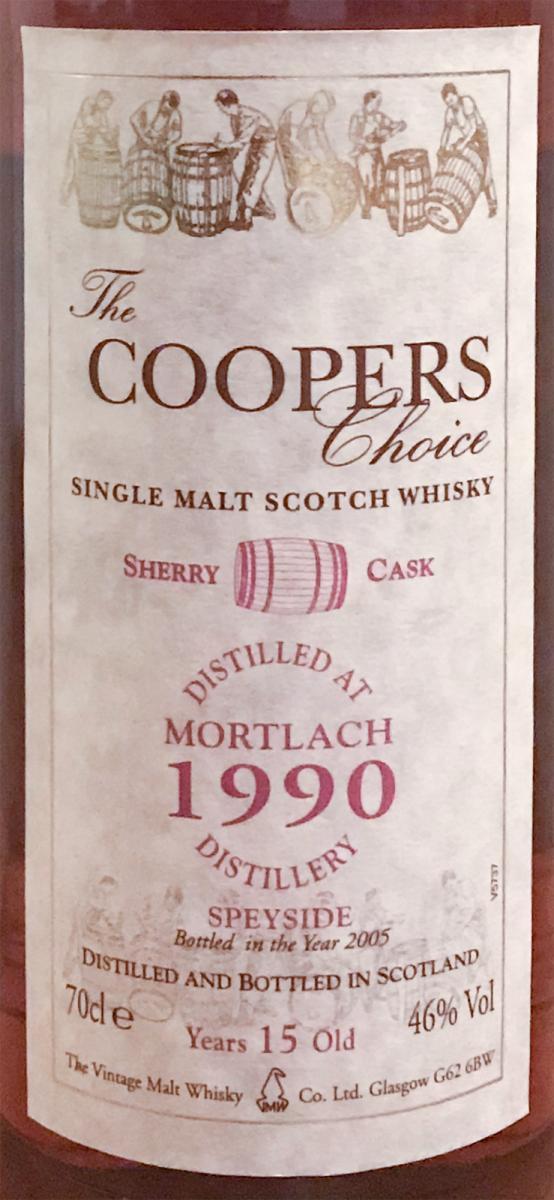 Mortlach 1990 CC Sherry
