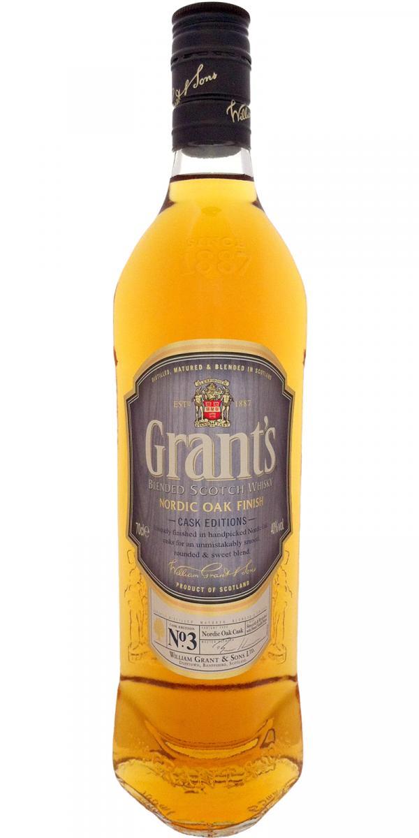 Grant's Nordic Oak Finish