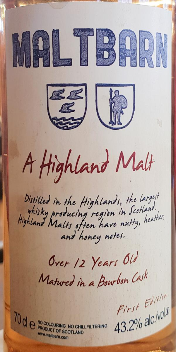 A Highland Malt 12-year-old MBa