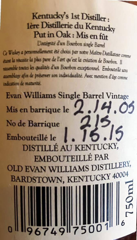 Evan Williams 2005