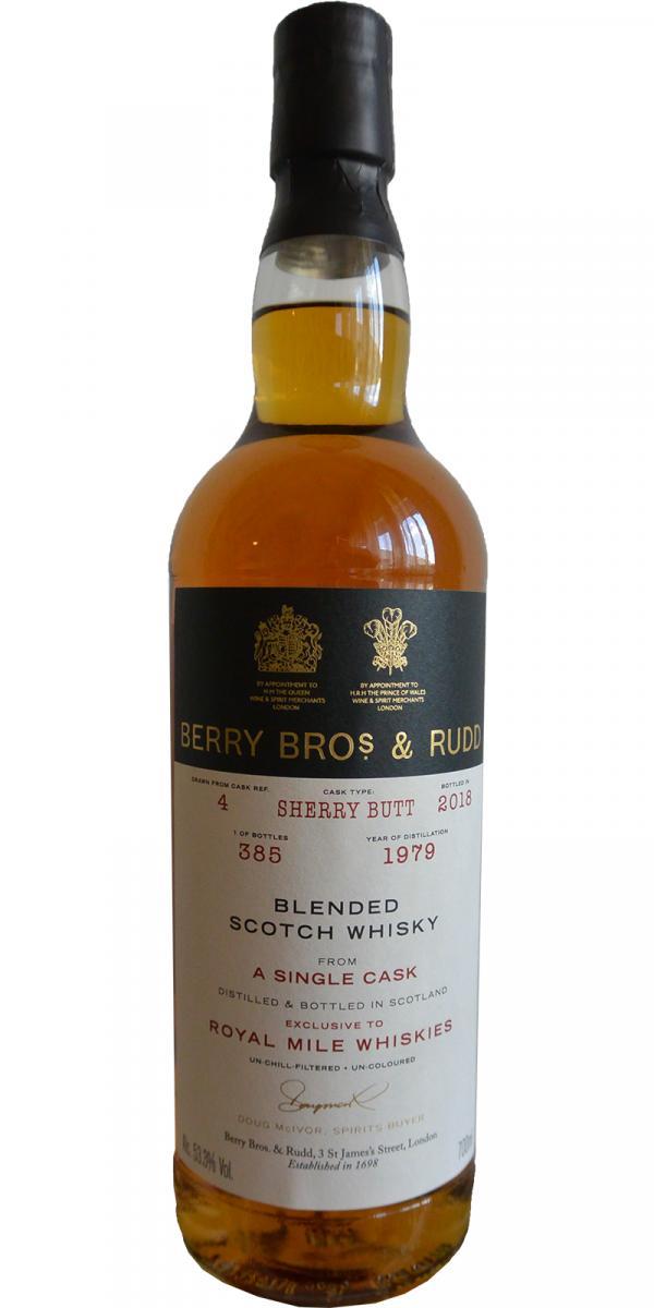 Blended Scotch Whisky 1979 BR