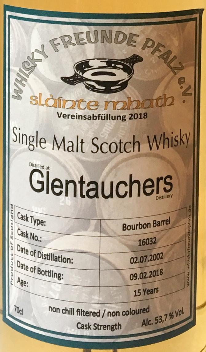 Glentauchers 2002 WFP