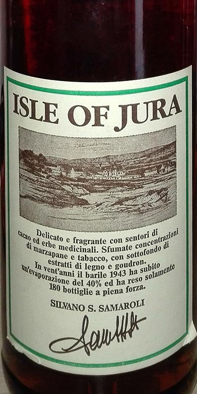 Isle of Jura 1966 RWD
