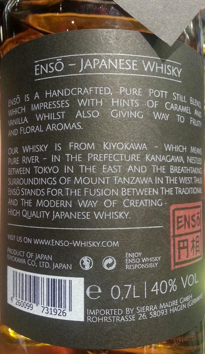 Ensō Japanese Whisky