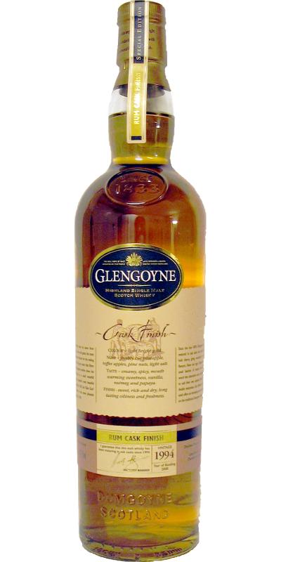 Glengoyne 1994 Rum Finish