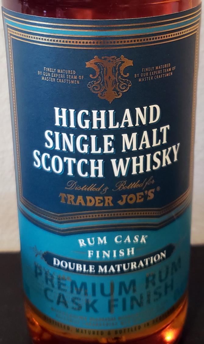 Trader Joe's Premium Rum Cask Finish