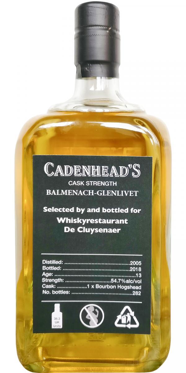 Balmenach 2005 CA
