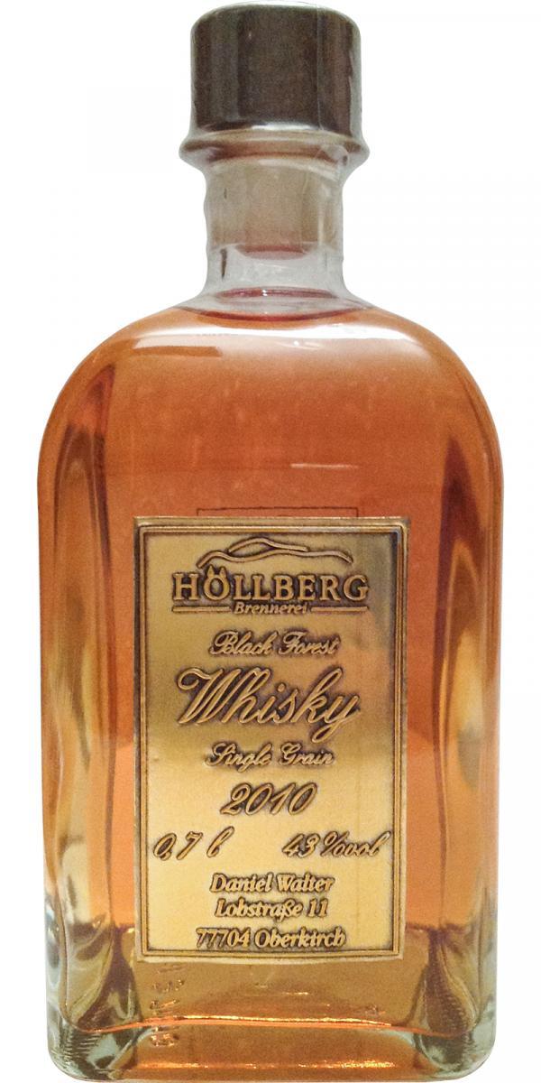 Höllberg 2010 Black Forest Whisky