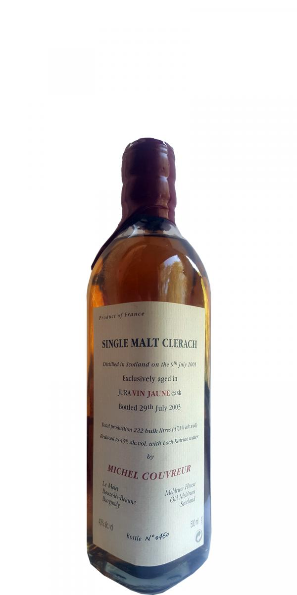Michel Couvreur Single Malt Clerach
