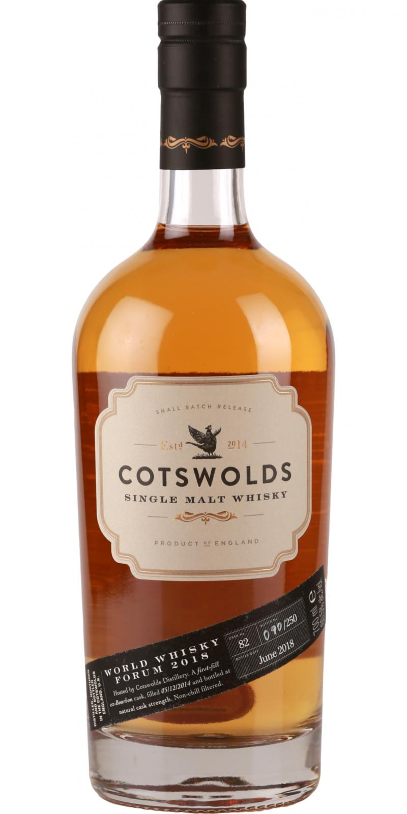 Cotswolds Distillery World Whisky Forum 2018