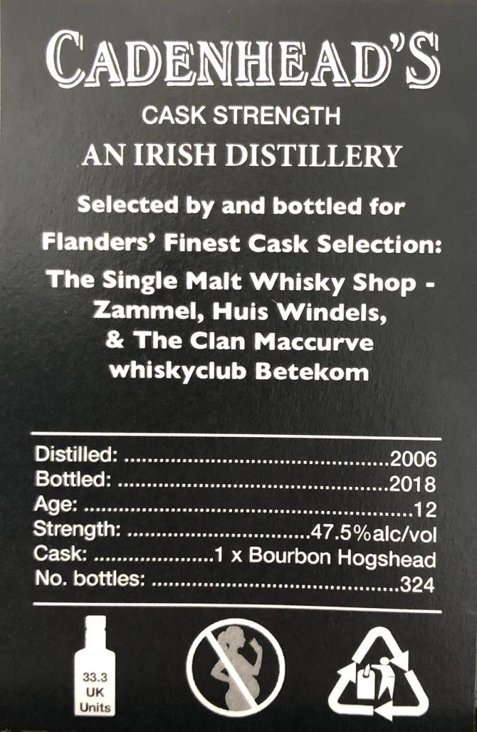 An Irish Distillery 2006 CA