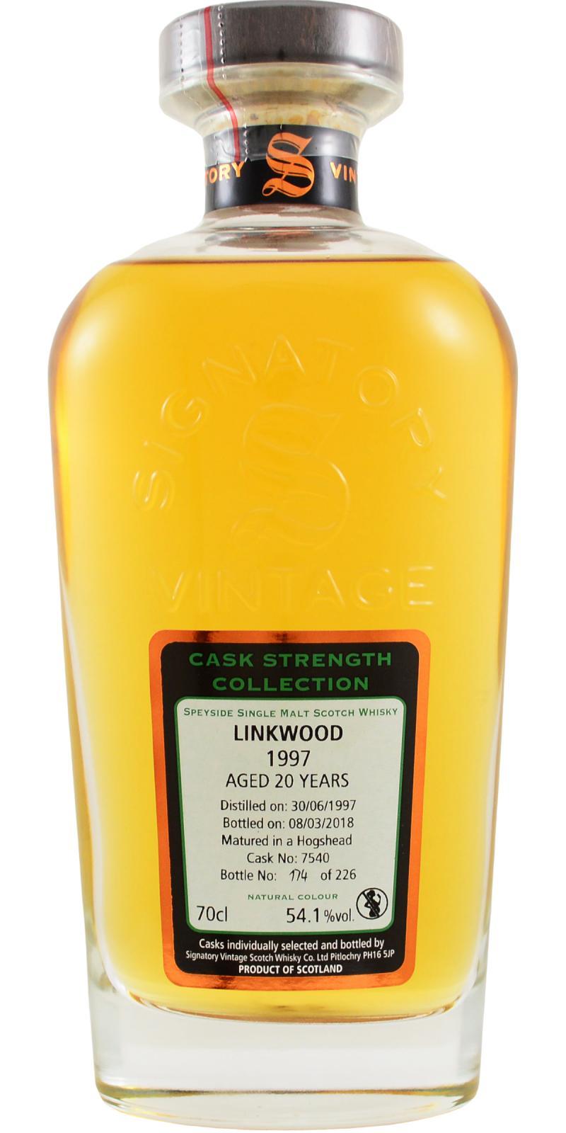 Linkwood 1997 SV