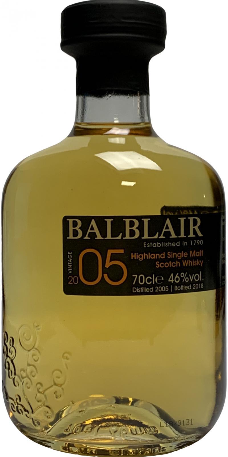 Balblair 2005