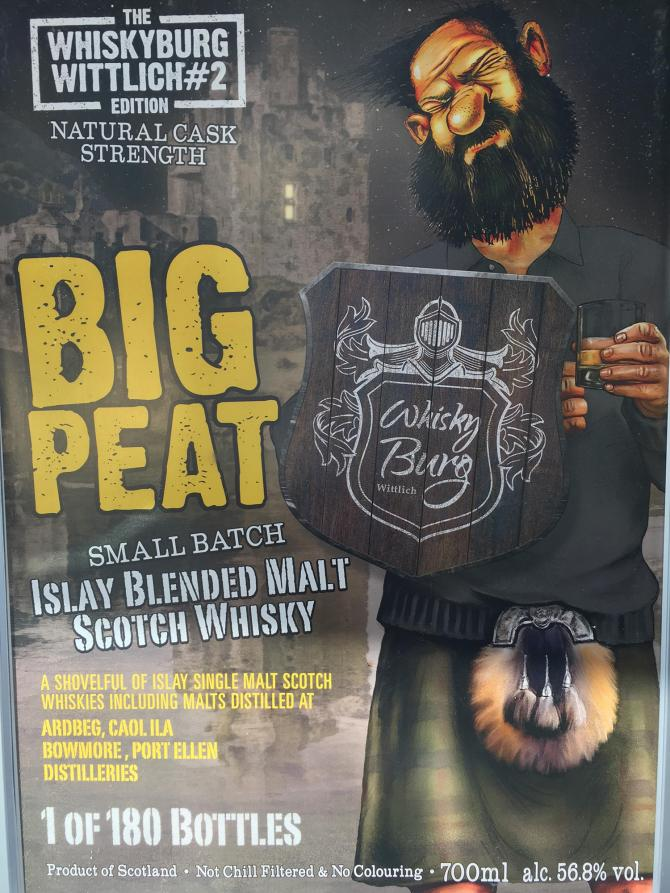 Big Peat The Whiskyburg Wittlich Edition #2