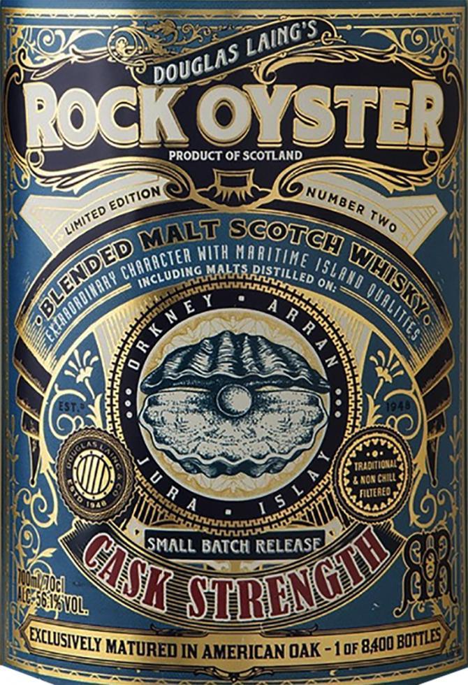 Rock Oyster Cask Strength DL