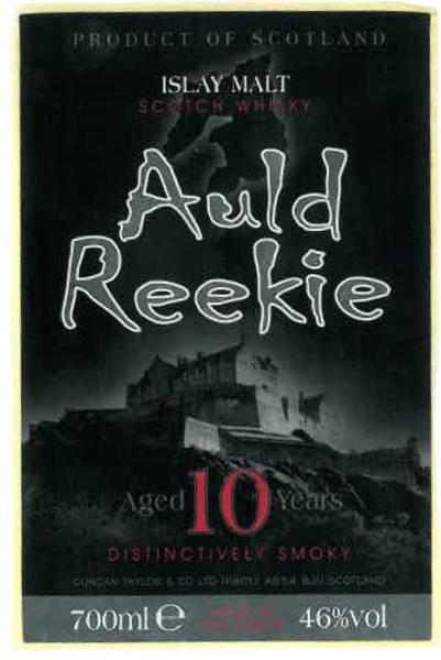 Auld Reekie 10-year-old DT