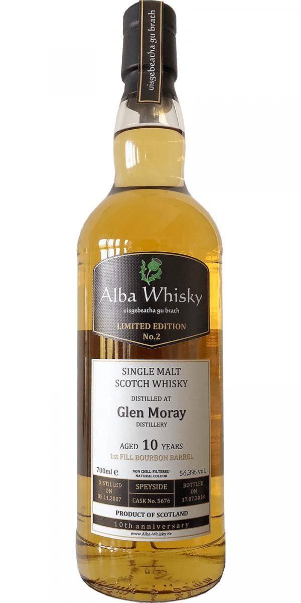 Glen Moray 2007 AWS Limited Edition No. 2