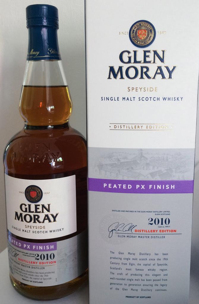 Glen Moray 2010 Peated PX Finish