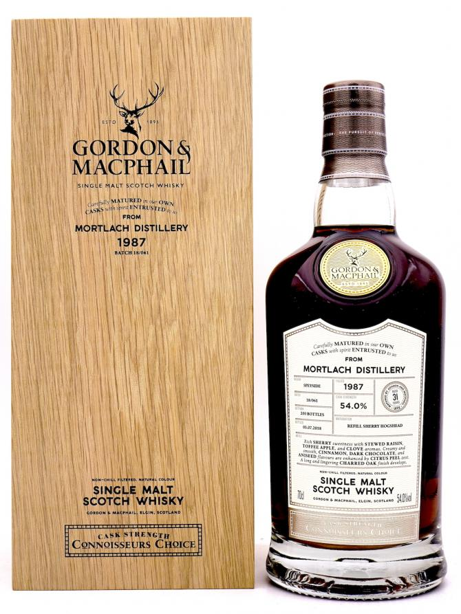 Mortlach 1987 GM