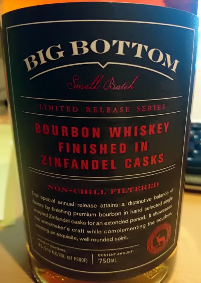 Big Bottom Small Batch - Zinfandel Cask