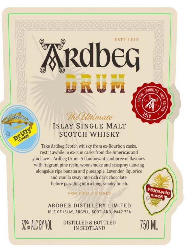 Ardbeg Drum - Committee Release