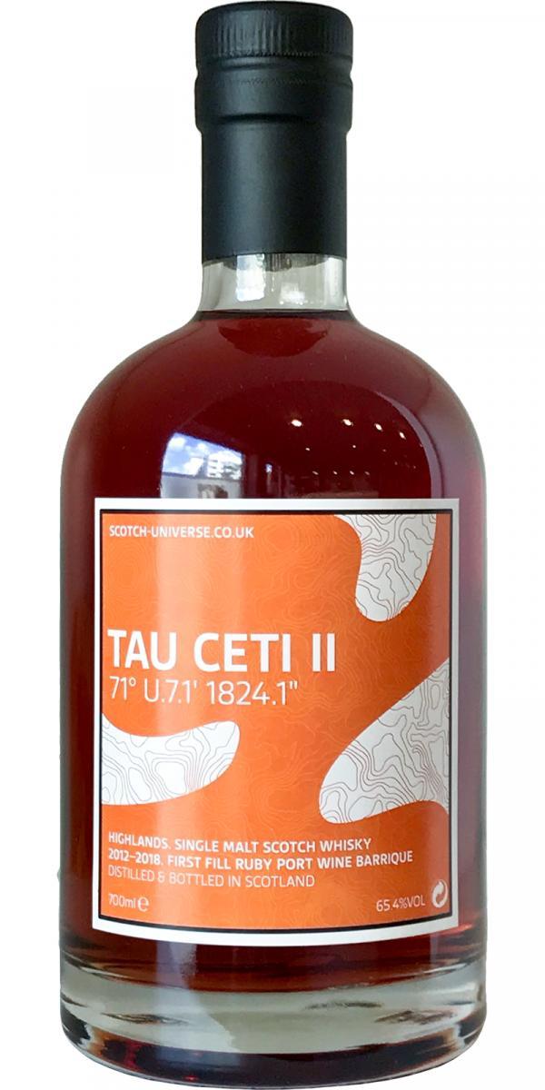 """Scotch Universe Tau Ceti II - 71° U.7.1' 1824.1"""""""