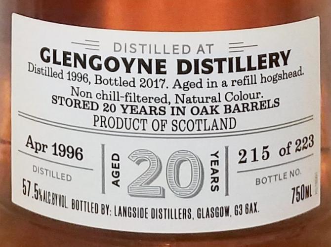 Glengoyne 1996 LsD