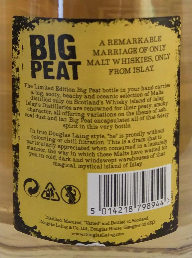 Big Peat The Frans Muthert 100th Anniversary Edition DL