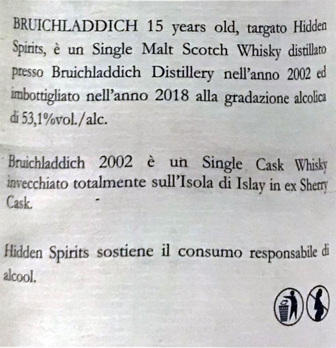 Bruichladdich 2002 HiSp