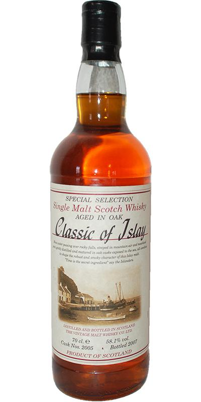 Classic of Islay Vintage 2007 JW