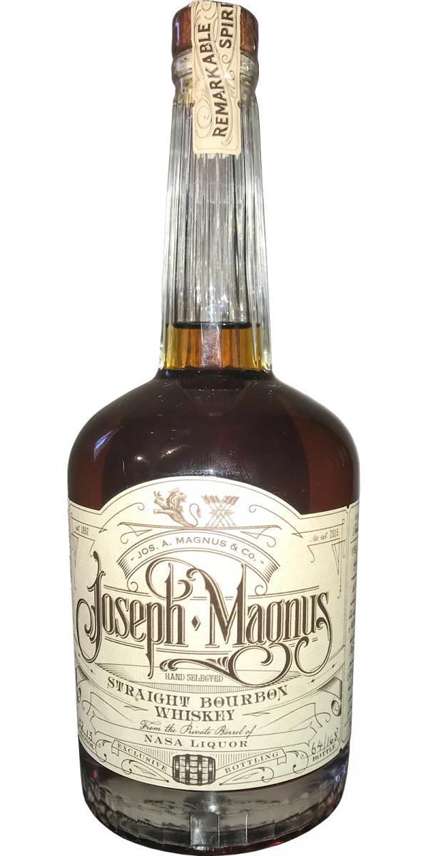 Joseph Magnus Single Barrel for Nasa Liquor