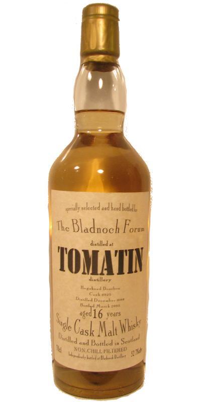 Tomatin 1988 BF