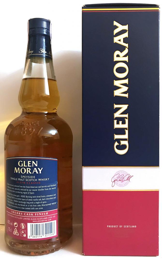 Glen Moray Elgin Classic - Sherry Cask Finish