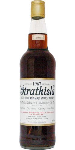 Strathisla 1967 GM