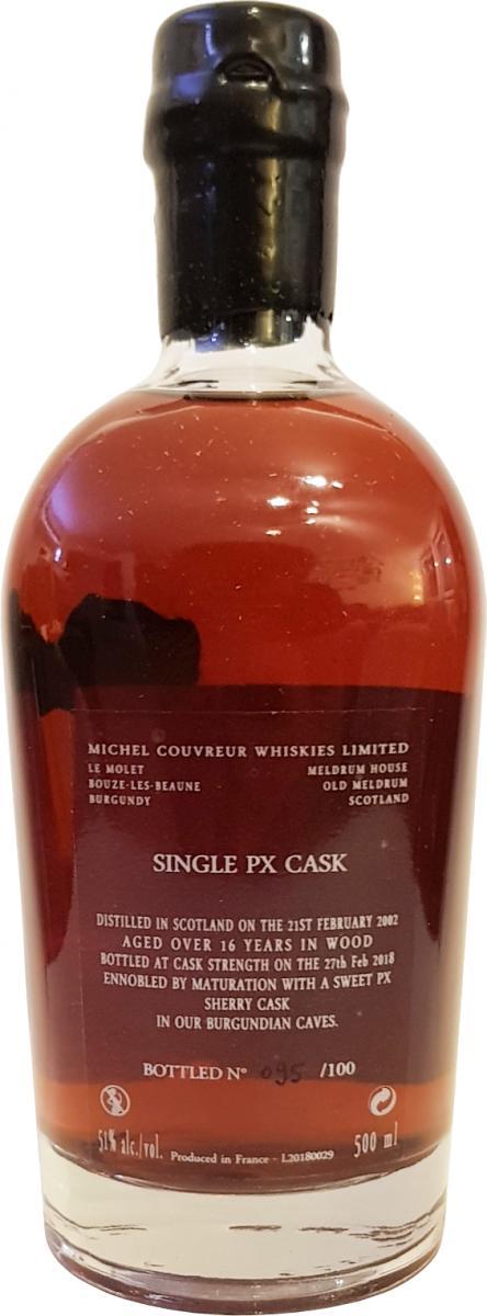 Michel Couvreur Single PX Cask