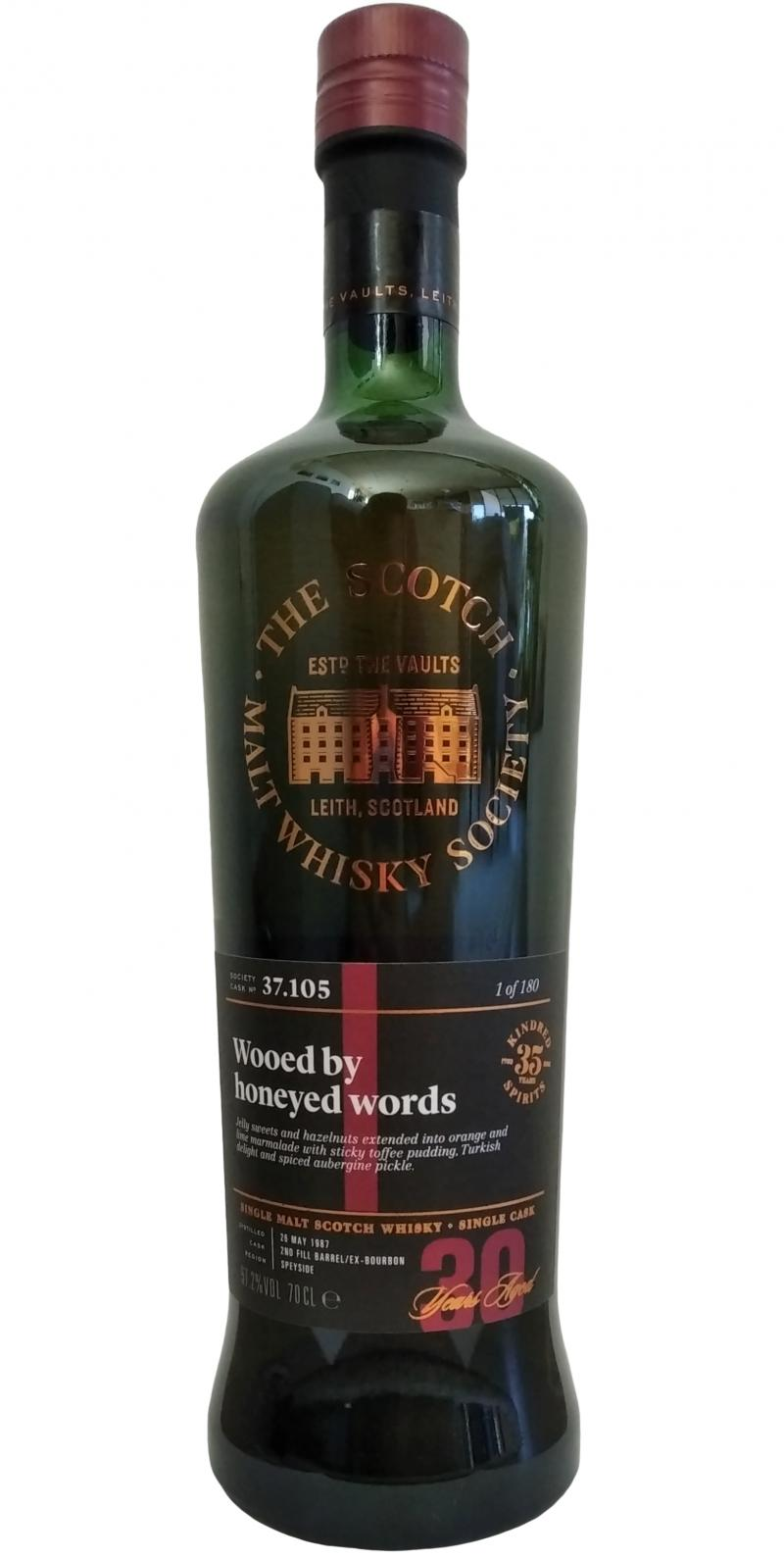 Cragganmore 1987 SMWS 37.105