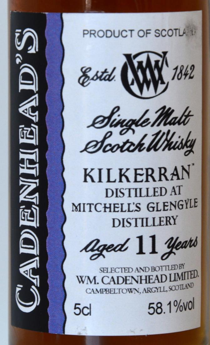 Kilkerran 11-year-old CA