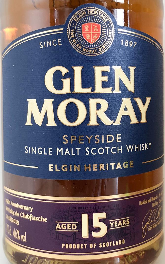 Glen Moray 15-year-old