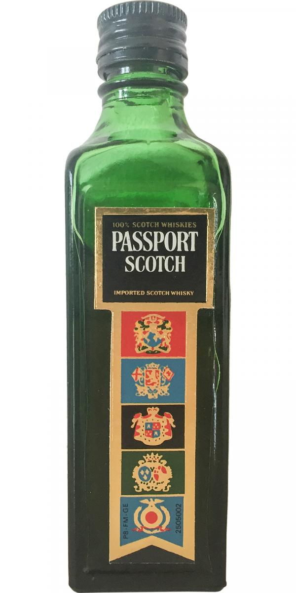 Passport 100% Scotch Whiskies