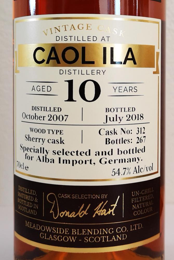 Caol Ila 2007 MBl