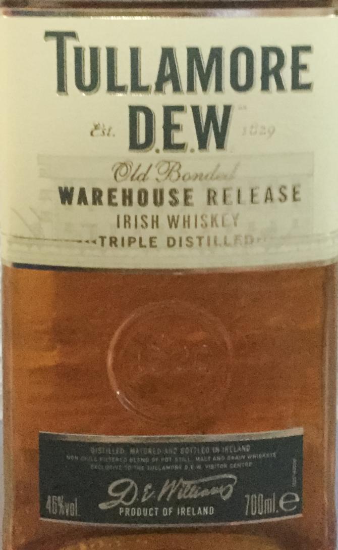 Tullamore Dew Warehouse Release