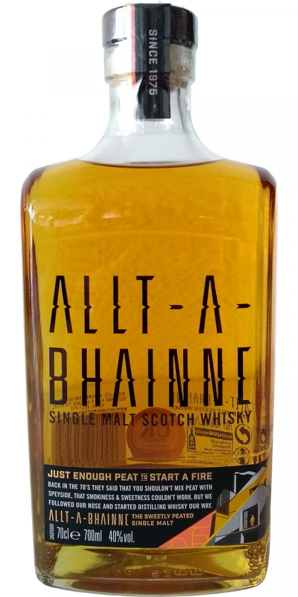 Allt-a-Bhainne Single Malt Scotch Whisky
