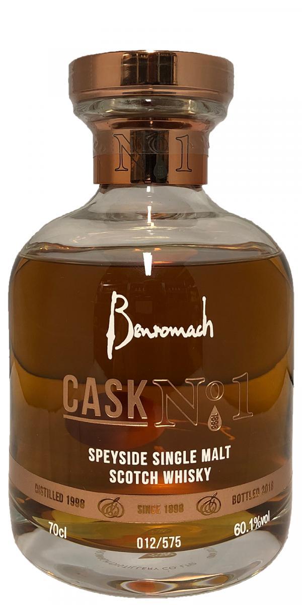 Benromach 1998 - Cask No. 1